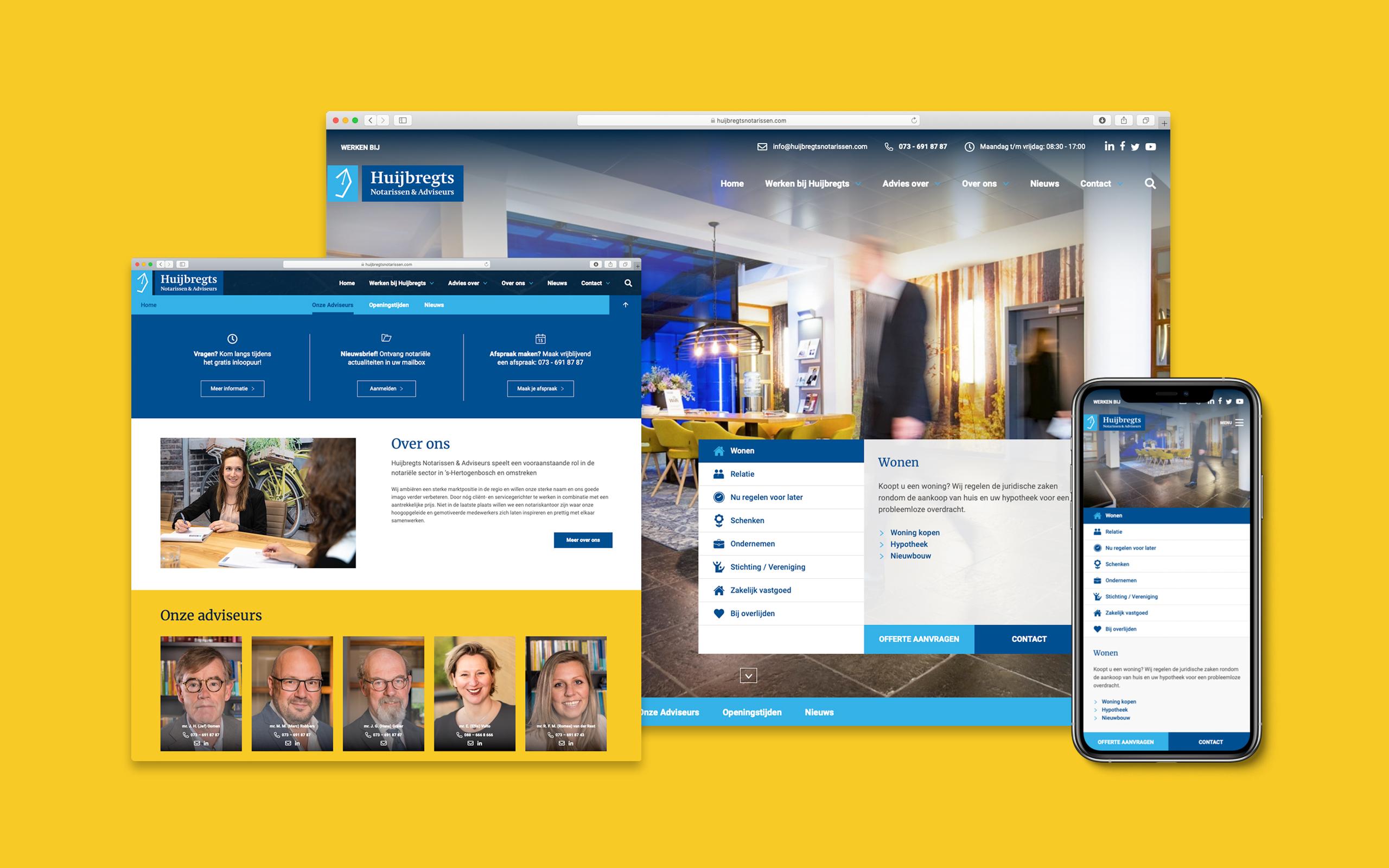 Website huijbregtsnotarissen.com