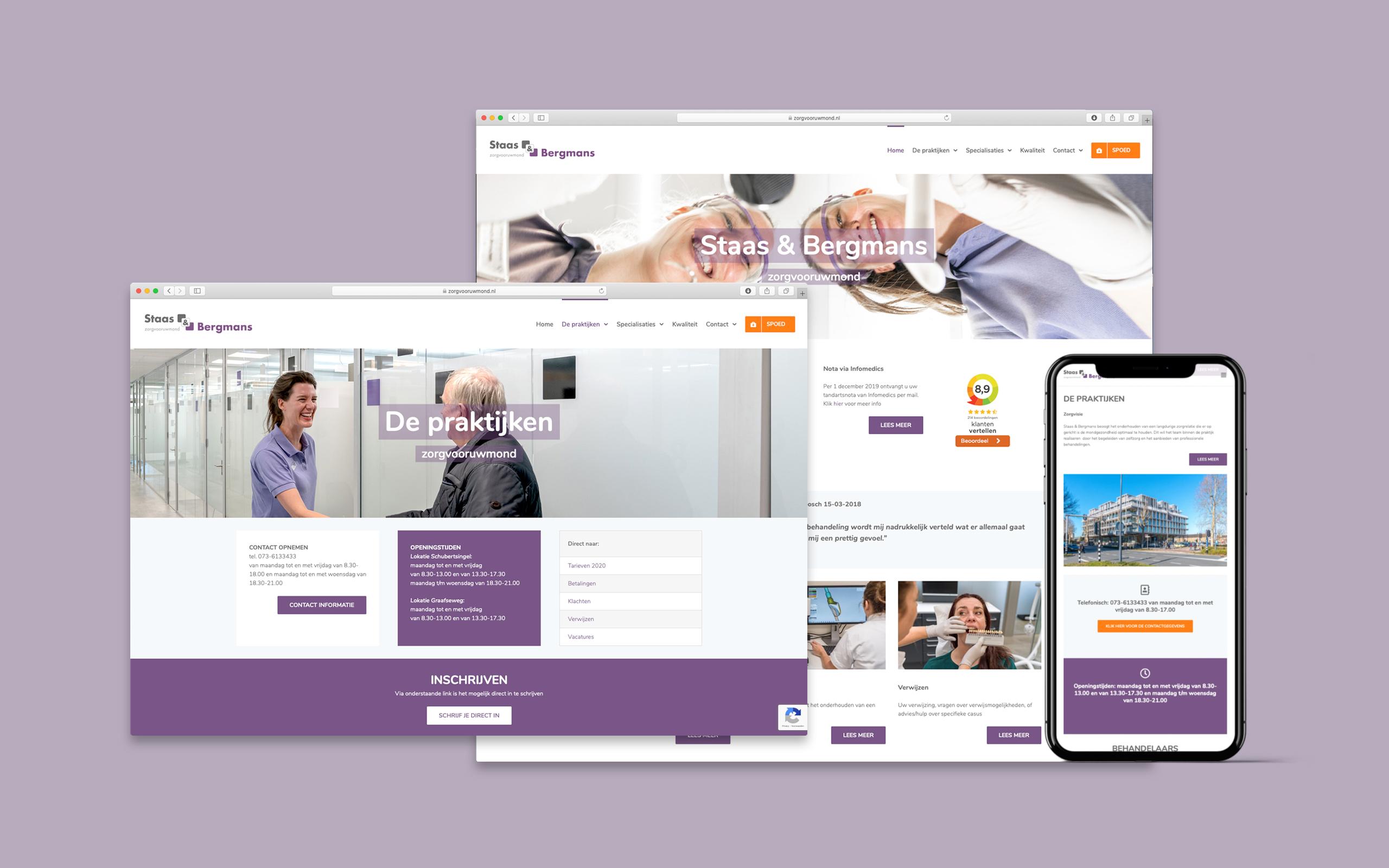 Website zorgvooruwmond.nl